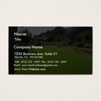 Lawn In One Park On Jersey Island Business Card