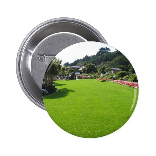 Lawn In One Park On Jersey Island Buttons