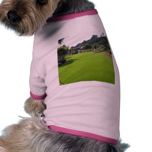 Lawn In One Park On Jersey Island Pet T-shirt