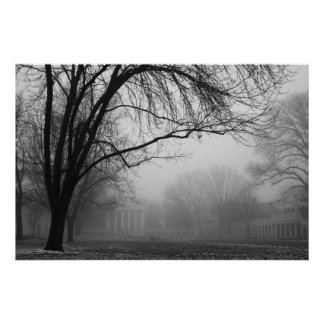 Lawn in the Mist Posters