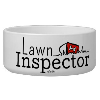 Lawn Inspector Girl or Boy Bowl