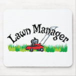 Lawn Mananger Mouse Pad