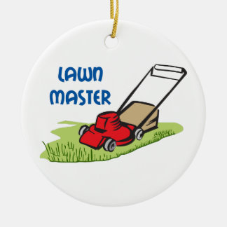 LAWN MASTER CERAMIC ORNAMENT