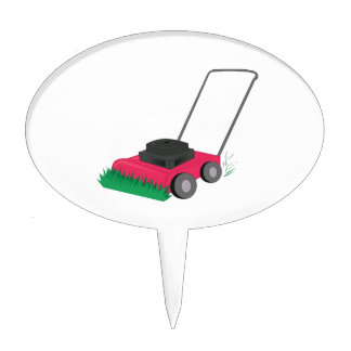 Lawn Mower Cake Topper