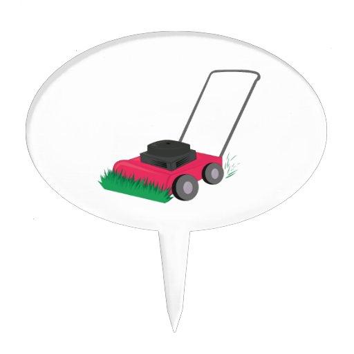 Lawn Mower Cake Topper
