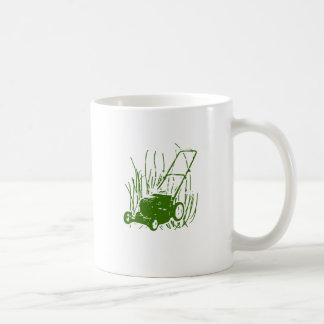 Lawn Mower Coffee Mug