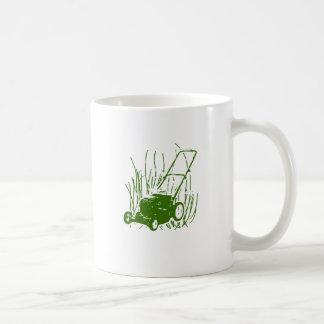 Lawn Mower Coffee Mug