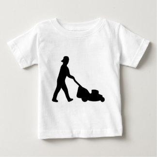 lawn mower icon baby T-Shirt