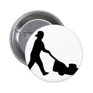 lawn mower icon button