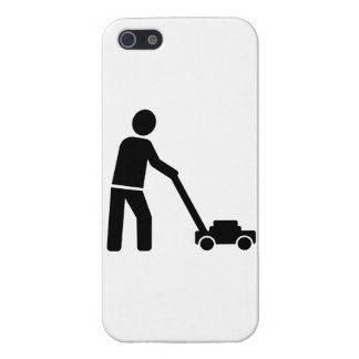 Lawn mower iPhone SE/5/5s cover