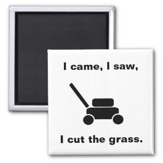 Lawn Mower Magnet