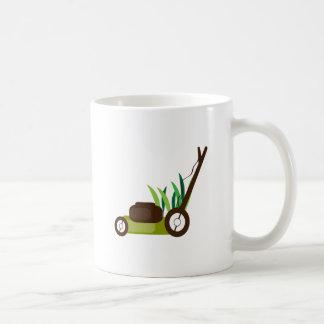 Lawn Mower Classic White Coffee Mug