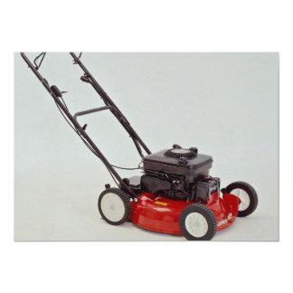 Lawn mower Photo Card