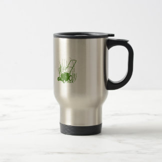 Lawn Mower Travel Mug