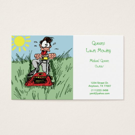 Lawn mowing business cards 14 awesome image of lawn mowing business cards davidhowald com colourmoves
