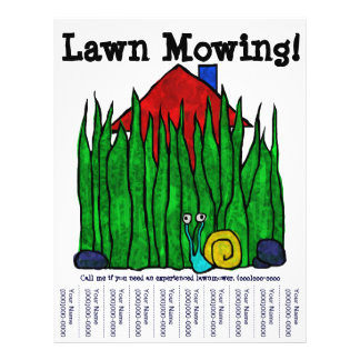 Lawn Mowing! Flyer