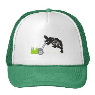 Lawn Mowing Turtle Trucker Hat