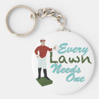 Lawn Needs One Keychain