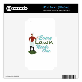 Lawn Needs One Skin For iPod Touch 4G