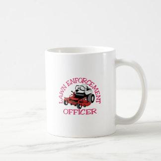 Lawn Officer Coffee Mug