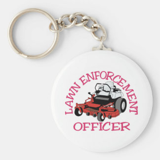 Lawn Officer Keychain