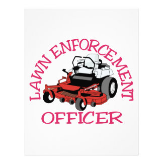 Lawn Officer Letterhead