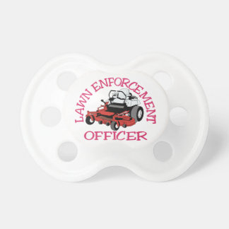 Lawn Officer Pacifier