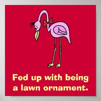 Lawn Ornament Poster