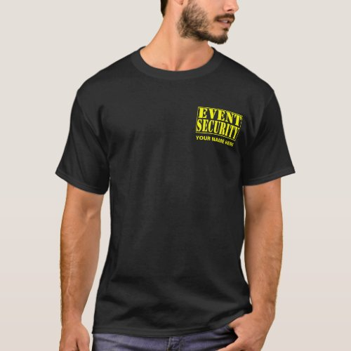 Lawn People Event Security dark T_Shirt