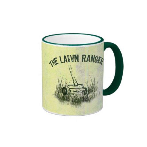 Lawn Ranger Coffee Mugs