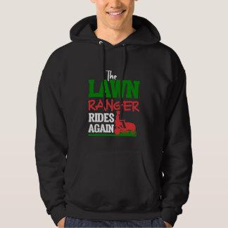 Lawn Ranger Grass Tractor Mowing Caretaker Hoodie