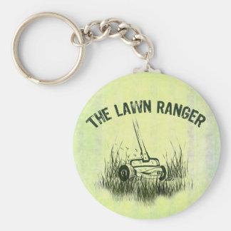 Lawn Ranger Keychain