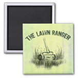Lawn Ranger Refrigerator Magnet