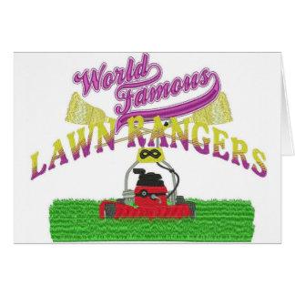 Lawn Rangers logo items Card
