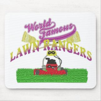 Lawn Rangers logo items Mouse Pad