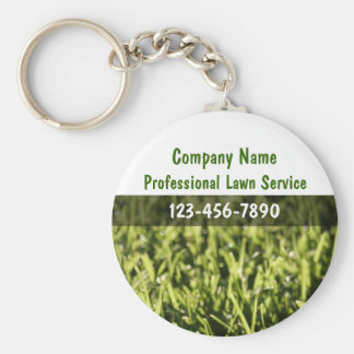 Lawn Service Key Chains