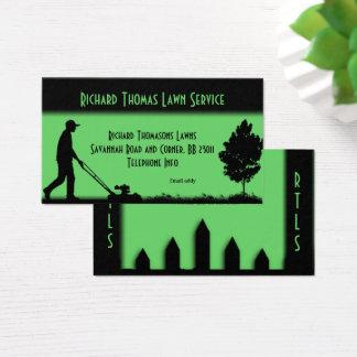 Lawn Service Landscape  Business Card