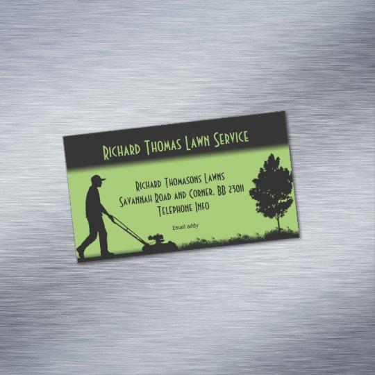 Lawn service landscape magnetic business business card magnet lawn service landscape magnetic business business card magnet colourmoves