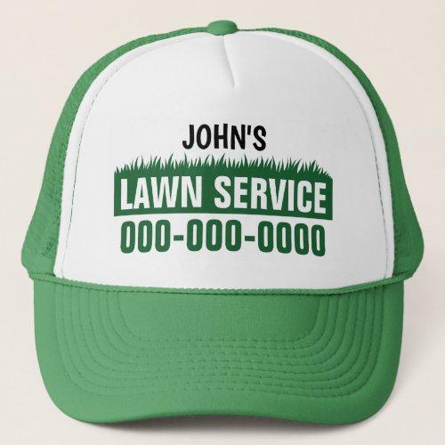 Lawn Service Trucker Hat