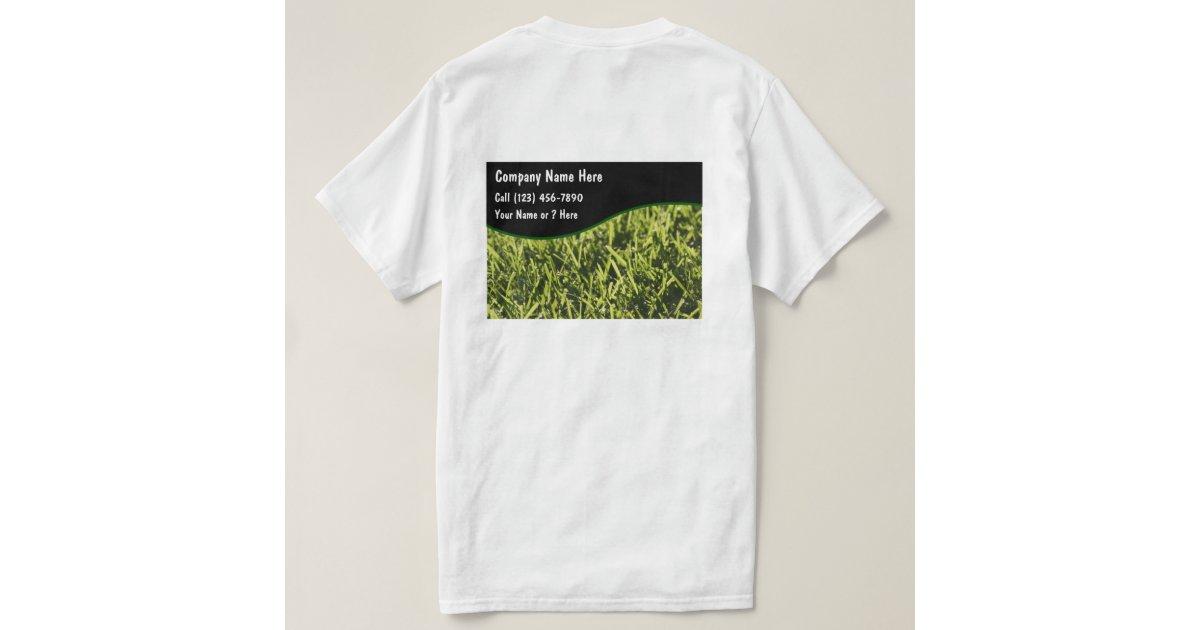 Lawn service tshirts zazzle for Lawn care t shirt designs