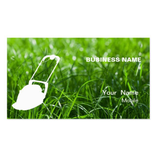 Lawn Services Business Card