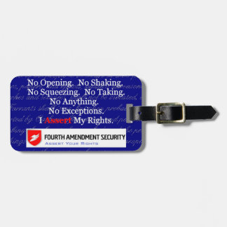 LAWn Sign Luggage Tag3 with Optional Card Slot Bag Tag