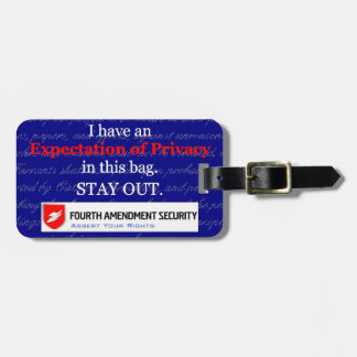 LAWn Sign Luggage Tag5 with Optional Card Slot Luggage Tag