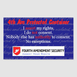 LAWn Sign Sticker1 Rectangular Sticker