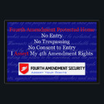 """LAWn Sign Yard Sign2<br><div class=""""desc"""">This is Sign2 in the yard sign collection of LAWn Signs from Fourth Amendment Security (FourthAmendmentSecurity.com). The graphics are sized to fit the small and large sign options. Legal Disclaimer: These products are for informational purposes only and not for the purpose of providing legal advice. You should contact your attorney...</div>"""