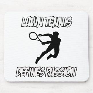 LAWN TENNIS designs Mouse Pad