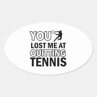 Lawn tennis designs stickers