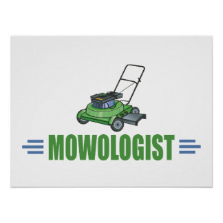Lawn Yard Mowing, Mow Lawns, Landscaping Lawn Care Poster