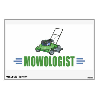 Lawn Yard Mowing, Mow Lawns, Landscaping Lawn Care Wall Sticker