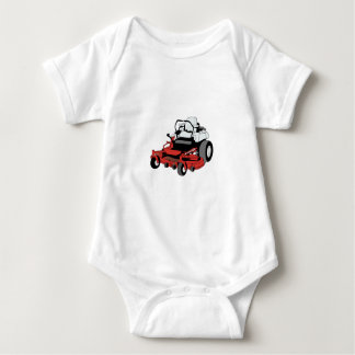 Lawnmower Baby Bodysuit